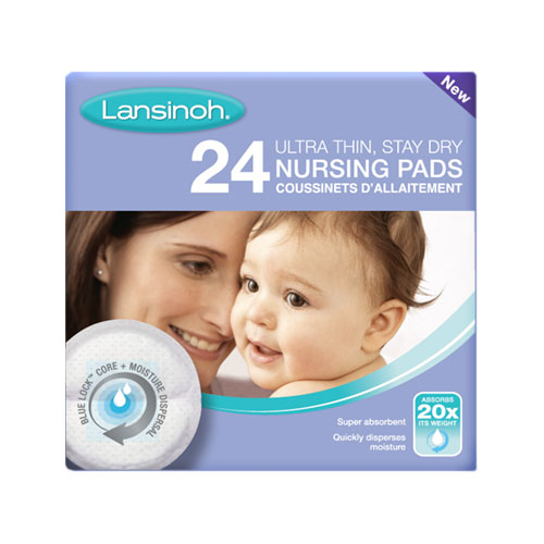 Pack of 24 New Blue Lock breast pads